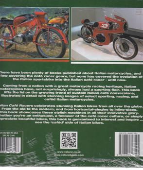 Italian Café Racers Back Cover