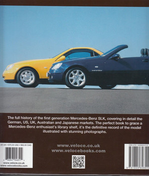 Mercedes-Benz SLK – R170 series 1996-2004 Back Cover