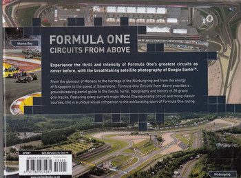 Formula One Circuits From Above Back Cover