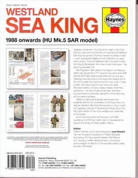 Westland Sea King 1988 onwards (HU Mk.5 SAR model) Owners' Workshop Manual Back Cover