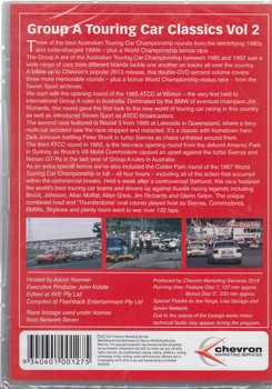 Group A Touring Car Classics Vol 2 (2 DVD Set) Back Cover