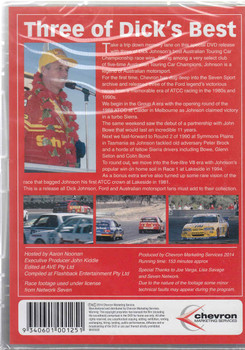 Magic Moments of Motorsport: Three of Dick's Best DVD Back Cover