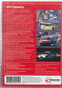V8 Classics - Memorable Races From The Start Of The V8 Era DVD Back Cover
