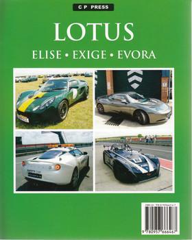 Lotus Elise, Exige, Evora Back Cover
