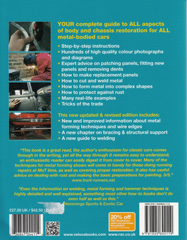 How to Restore Classic Car Bodywork: Enthusiast's Restoration Manual Back Cover
