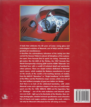 Racing Maseratis Back Cover