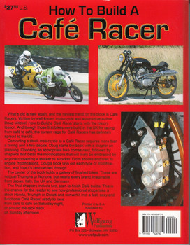 How to Build a Cafe Racer Back Cover
