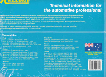 Rellim Wiring Diagrams Volumes 3 & 4 Back Cover