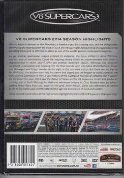 2014 V8 Supercars Season Highlights DVD Back Cover