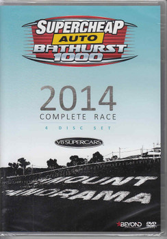 Supercheap Auto Bathurst 1000 V8 Supercars - 2014 Complete Race DVD (4 disc set)