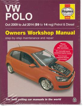 Volkswagen Polo 2009 - 2014 Petrol & Diesel Owners Workshop Manual
