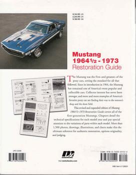 Mustang 1964 1/2 - 1973 Restoration Guide