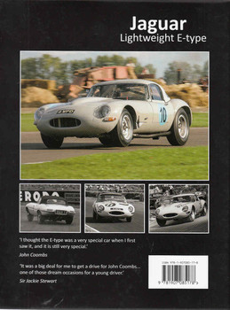 Jaguar Lightweight E-Type The Autobiography of 4 WPD Back Cover