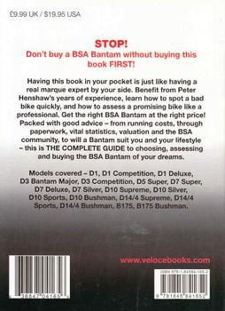 BSA Bantam - The Essential Buyer's Guide