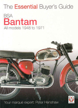 BSA Bantam All models 1948 to 1971 - The Essential Buyer's Guide