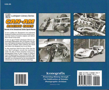 Can-Am Racing Cars: Secrets of the Sensational Sixties Sports-Racers Back Cover