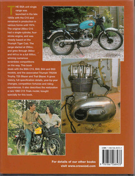 BSA Unit Singles: The Complete Story Including The Triumph Derivatives -back