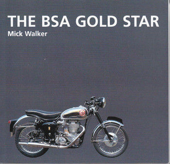 The BSA Gold Star front