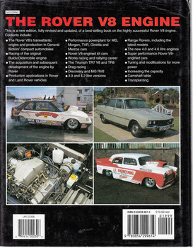 The Rover V8 Engine: 2nd Edition - back