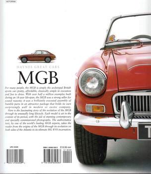 MGB : MGC & MGB GT V8 - Haynes Great Cars - back