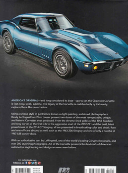 Art Of The Corvette  - back