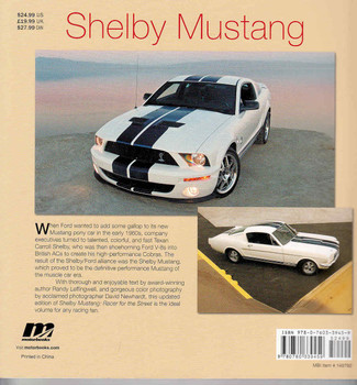 Shelby Mustang: Racer for the Street - Softcover Edition  - back