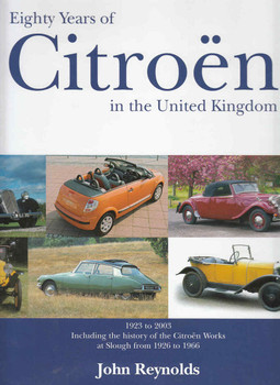 Eighty Years of Citroen in the United Kingdom - front