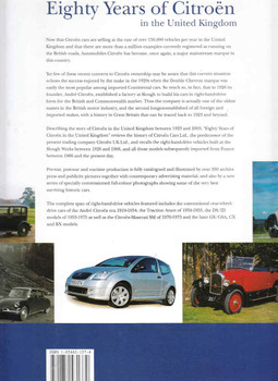 Eighty Years of Citroen in the United Kingdom - back