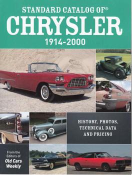 Standard Catalog Of Chrysler 1914 - 2000