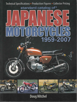 Standard Catalog Of Japanese Motorcycles 1959 - 2007 - front