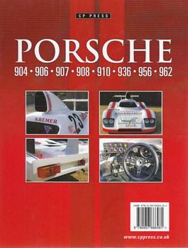 Porsche 904 - 906 - 907 - 908 - 910 - 936 - 956 - 962 - CP Press  - back