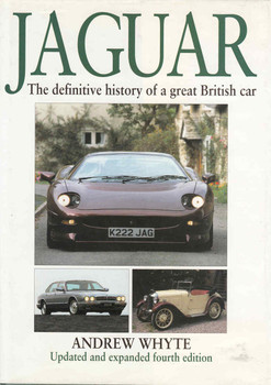 Jaguar: The Definitive History of a great British Car - 4th Updated Edition  - front