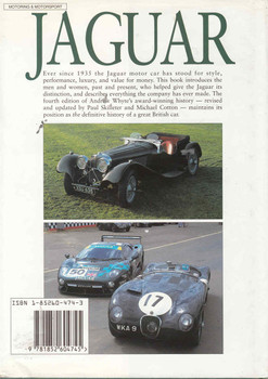 Jaguar: The Definitive History of a great British Car - 4th Updated Edition - back