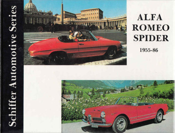 Alfa-Romeo Spider 1955-1986 - Schiffer Automotive Series - front