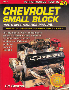 Chevy Small-Block Parts Interchange Manual - 1997 1st Edition  - front