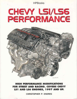 Chevy LS1/LS6 Performance HP Books - front