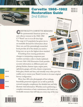 Corvette 1968-1982 Restoration Guide - 2nd Edition  - back