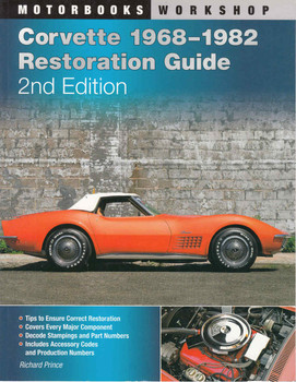 Corvette 1968-1982 Restoration Guide - 2nd Edition - front