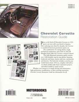 Chevrolet Corvette Restoration Guide - back