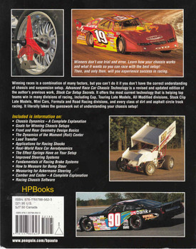 Advanced Race Car Chassis Technology - Revised and Updated Edition - back