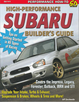High-Performance Subaru Builder's Guide  - front