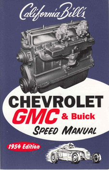 Chevrolet GMC & Buick Speed Manual - Reprint  - front