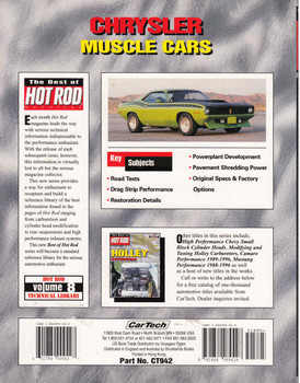 Chrysler Muscle Cars - The Best of Hot Road Magazine - back