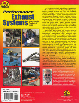 Performance Exhaust Systems How to Design, Fabricate & Install - back