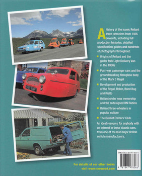 Reliant Three-Wheelers: The Complete Story - back