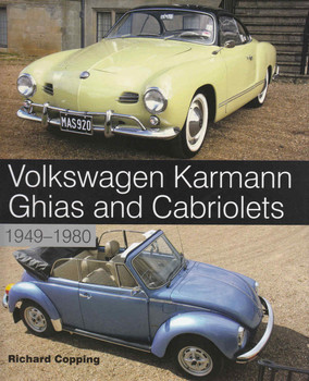 Volkswagen Karmann Ghias and Cabriolets 1949-1980 - front
