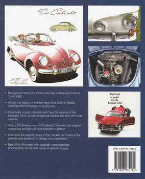 Volkswagen Karmann Ghias and Cabriolets 1949-1980 - back