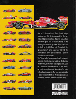 Ferrari: All The Cars, A Complete Guide from 1947 to the present - New Updated Edition - back