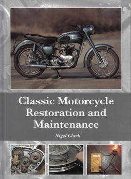 Classic Motorcycle Restoration and Maintenance - front
