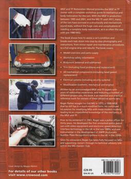 MGF and TF Restoration Manual - back